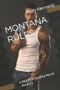 Montana Rules: A REAPER Security Novel - Book 11