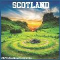 Scotland 2021 Calendar: Official Scotland Wall Calendar 2021