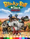 Blinky bill el koala coloring book: for kids all age (activity book)