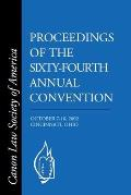 CLSA Proceedings of the Sixty-Fourth Annual Convention: Cincinnati, OH October 7-10, 2002