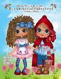 Sherri Baldy My Besties Alice meets Red Riding Hood Coloring Book